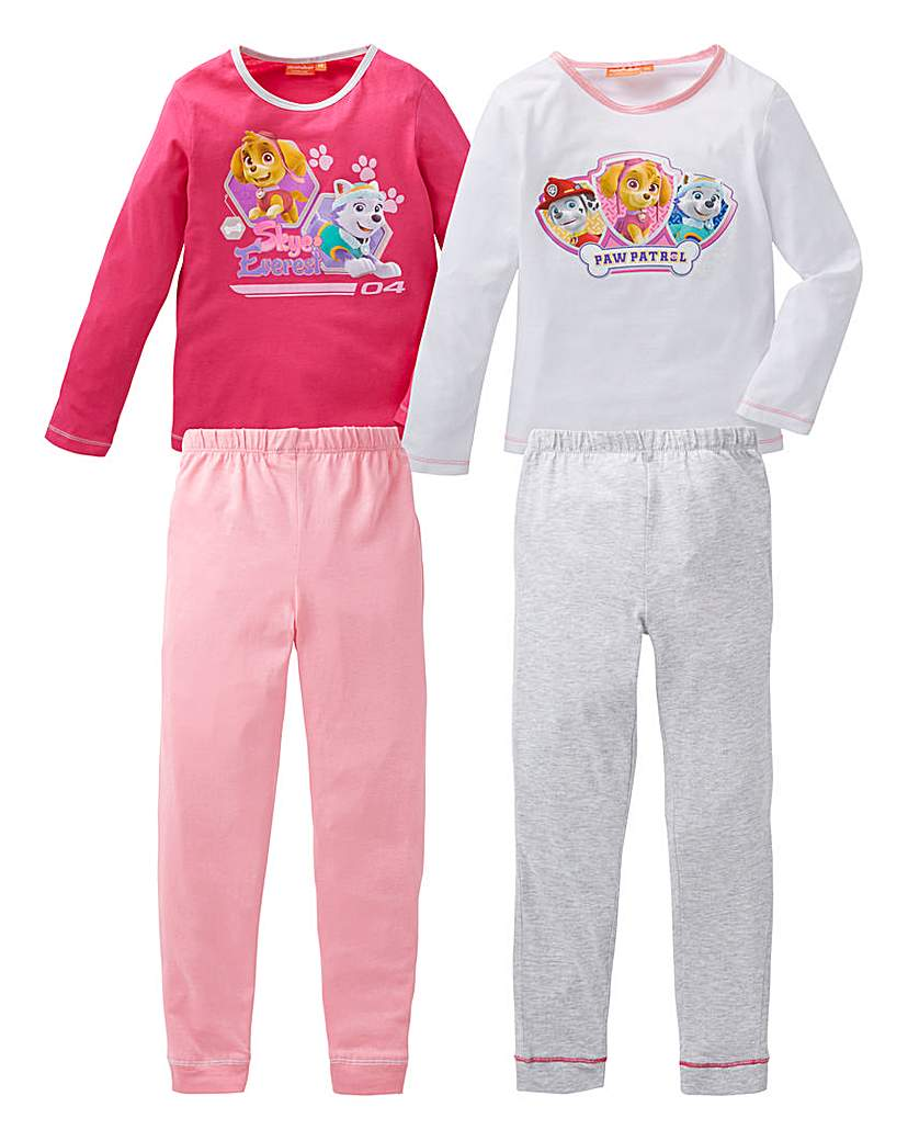 Pack of Two Paw Patrol Pyjamas.