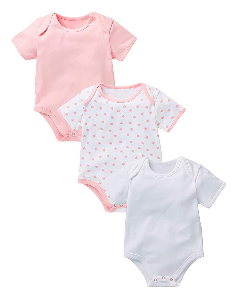 KD Baby Pack Of Three Bodysuits