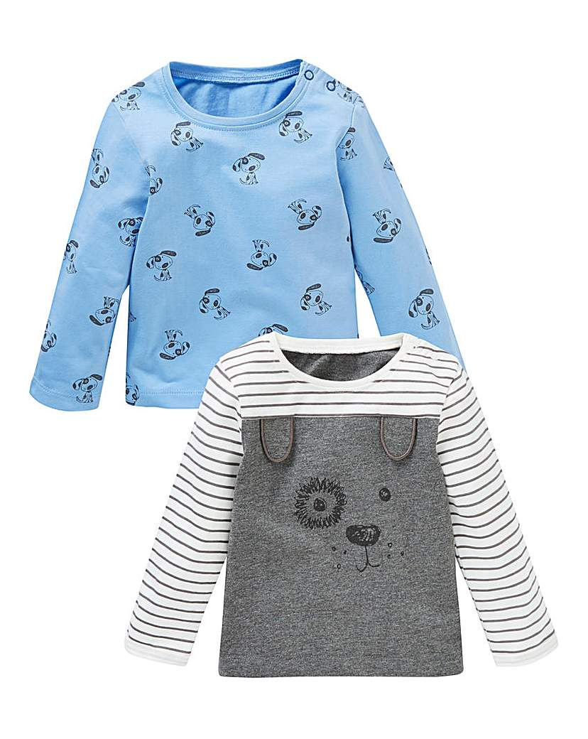 KD Baby Boy Pack of Two Tops