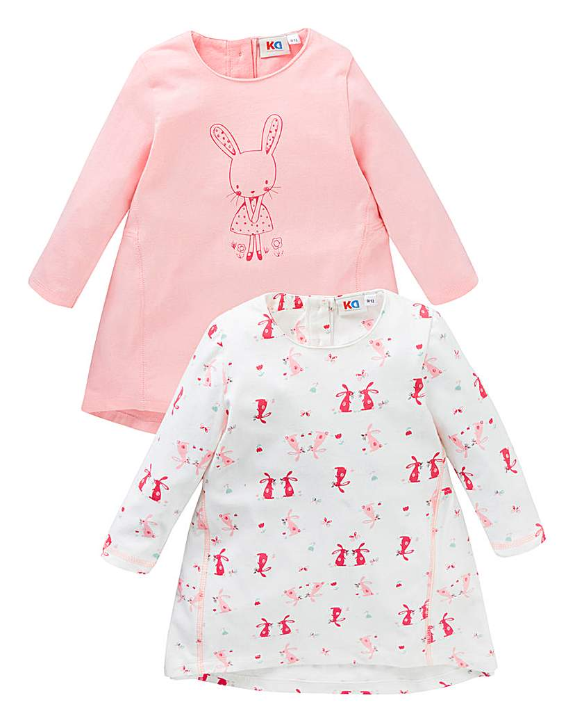 Image of KD Baby Girl Pack of Two Dresses