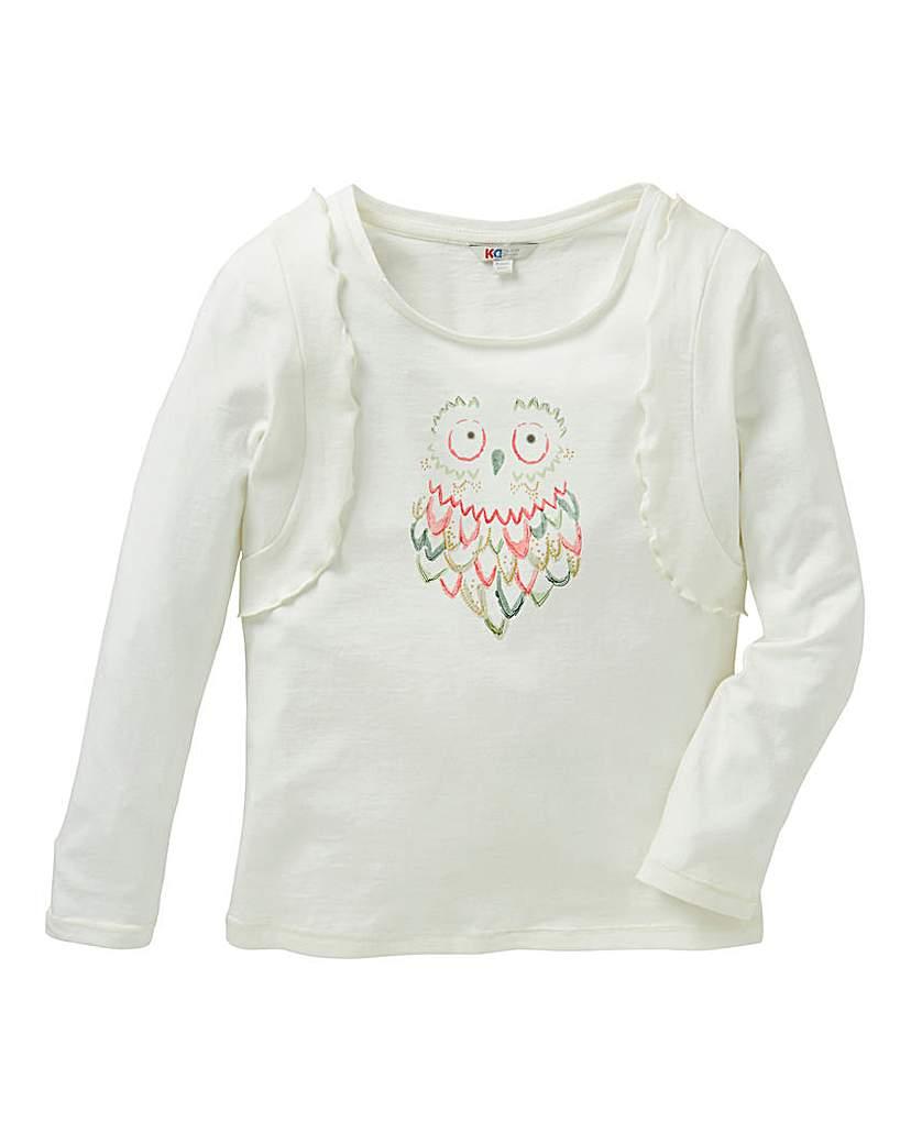 KD Baby Owl T-Shirt.