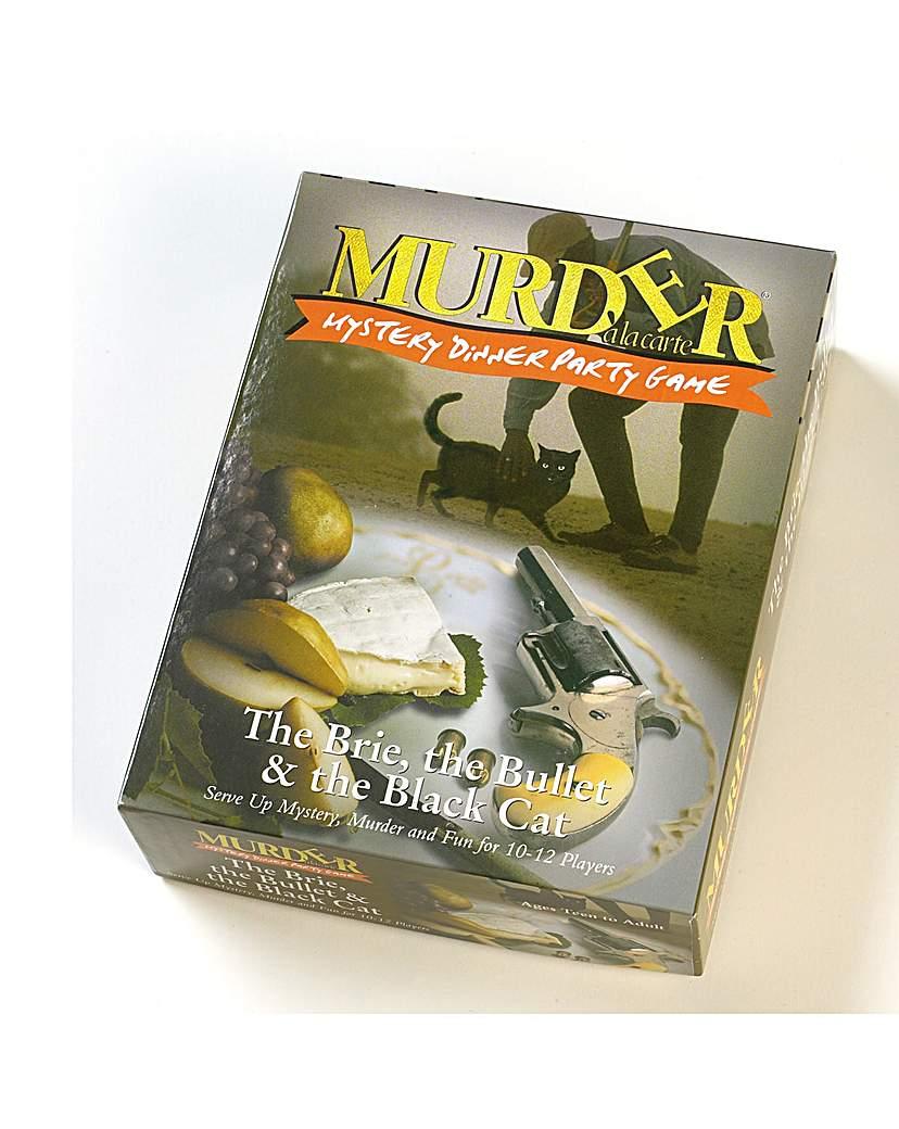 Image of Brie Bullet & Black Cat Murder CD Game
