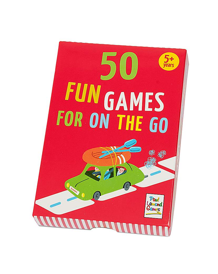 Image of 50 Fun Games For On the Go