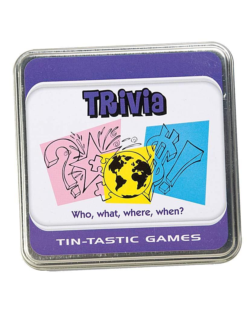 Image of Tintastic Trivia Game