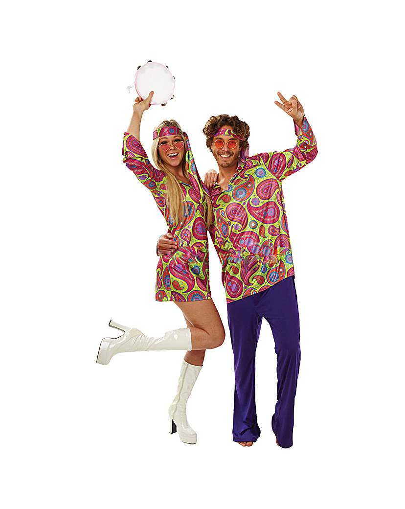 Image of Adult 1970's Hippie Guy Costume