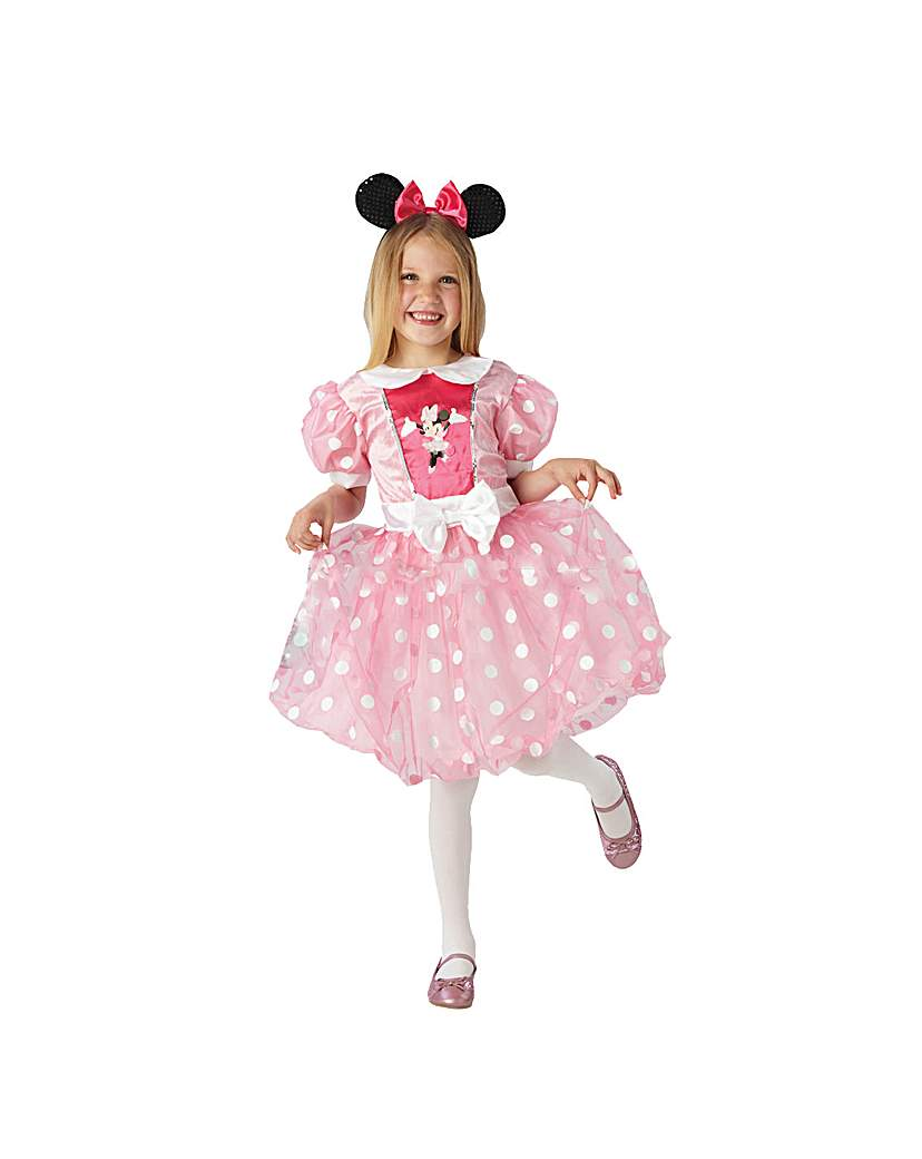 Image of Glitz Pink Minnie Mouse Costume