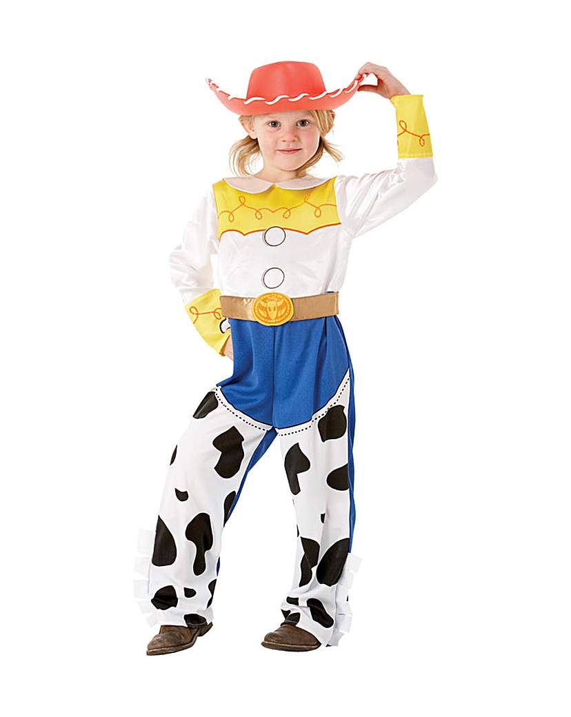 Toy Storys Girls Deluxe Jessie Costume