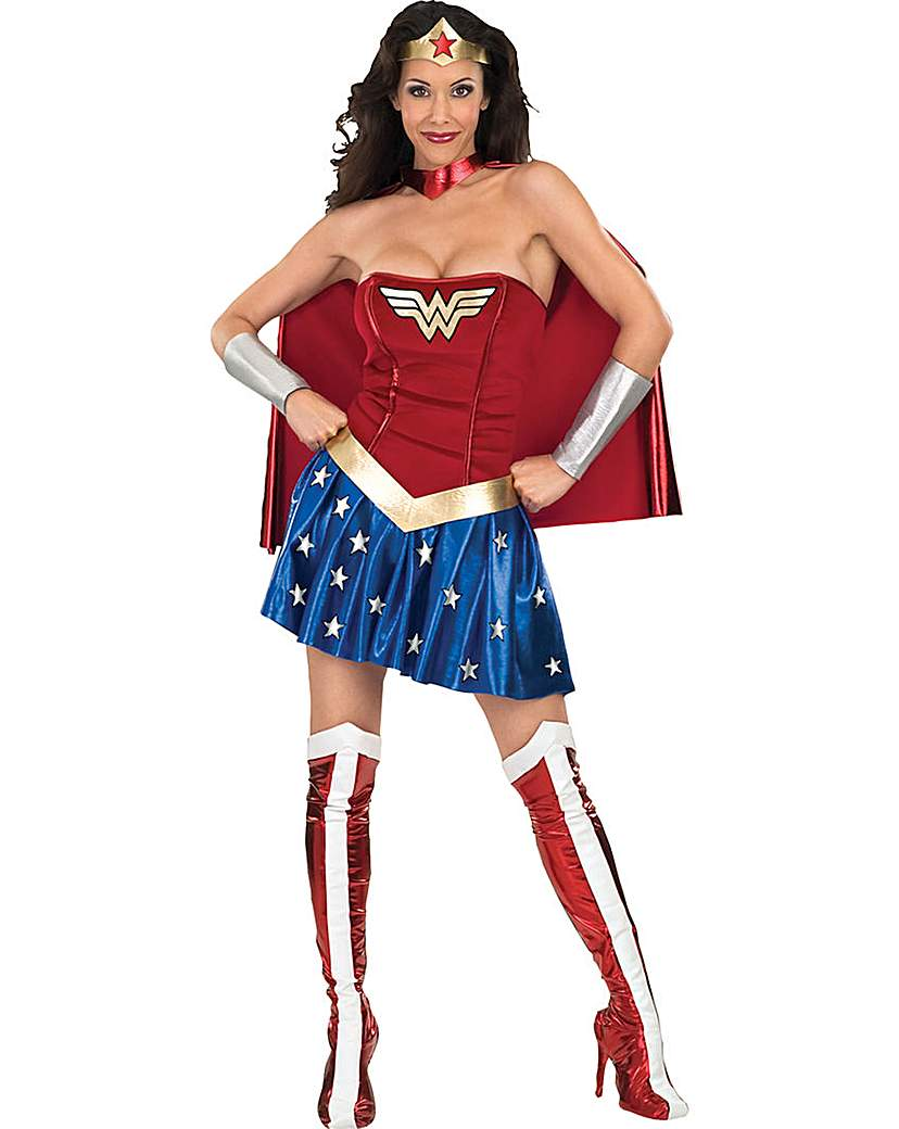 Image of Adult Wonder Woman Costume
