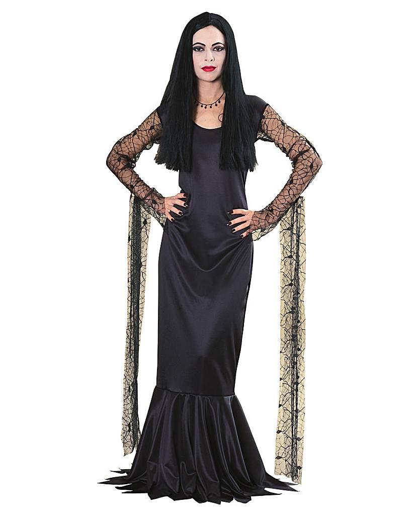 Addams Family Ladies Morticia Costume