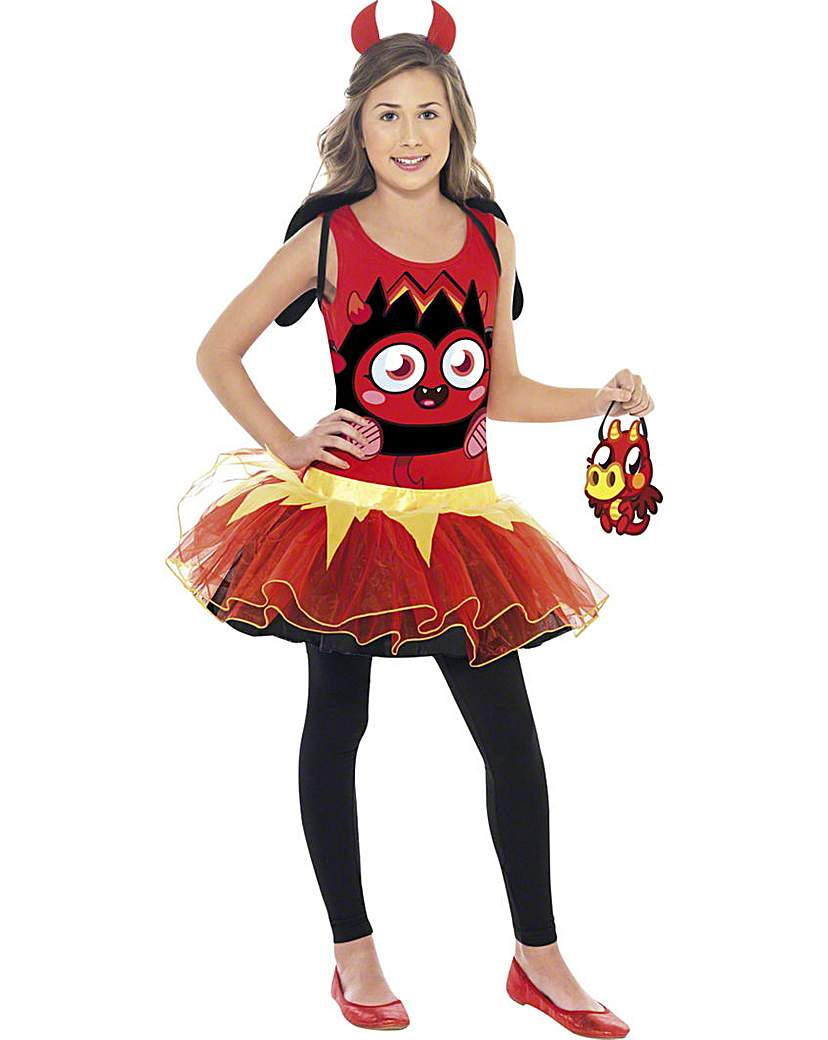 Moshi Monsters Girls Diavlo Costume