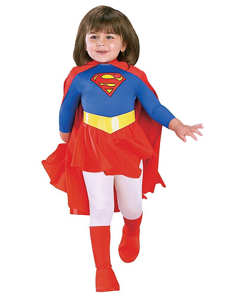 Girls Traditional Supergirl Costume