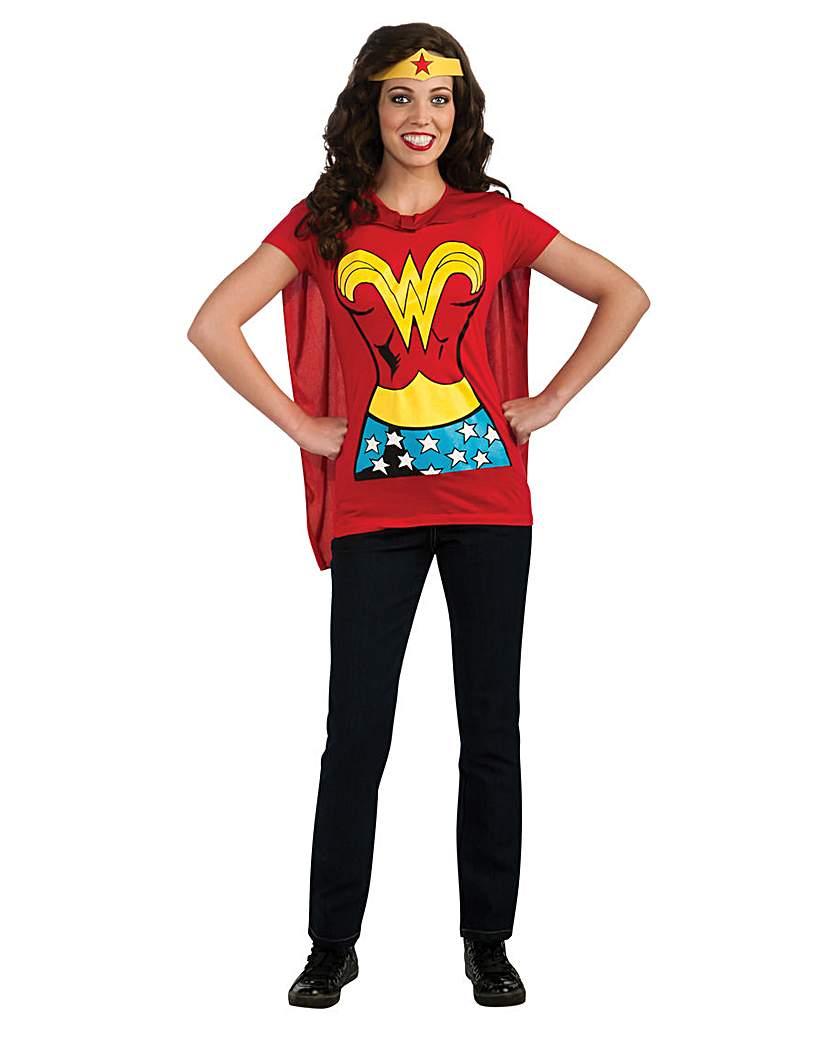 Image of Ladies Wonder Woman T-Shirt
