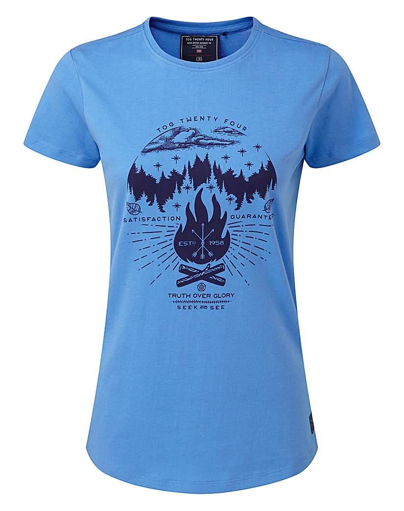 Tog24 Nicky Womens T-Shirt Camp Fire
