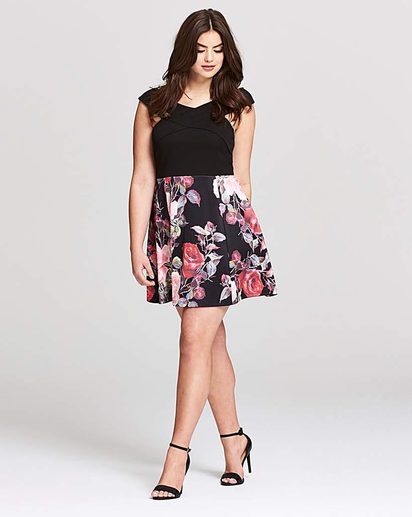 Image of AX Paris Bardot Prom Dress