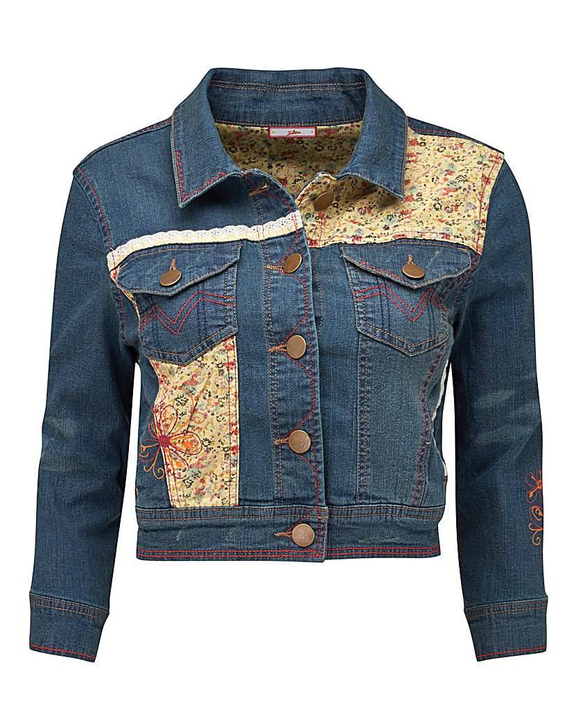 Joe Browns Embroidered Denim Jacket