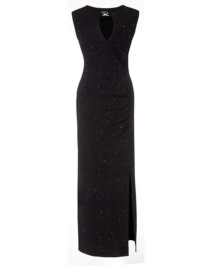 Grace Glitter Maxi Dress