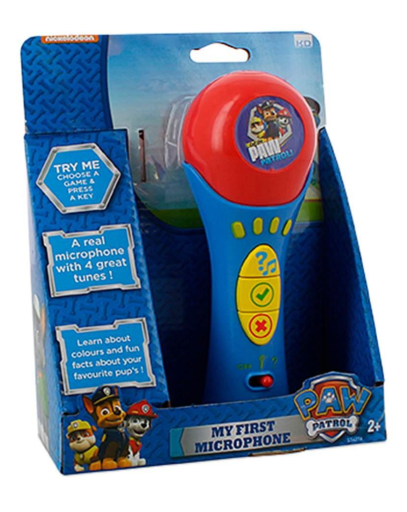 Paw Patrol My First Blue Microphone
