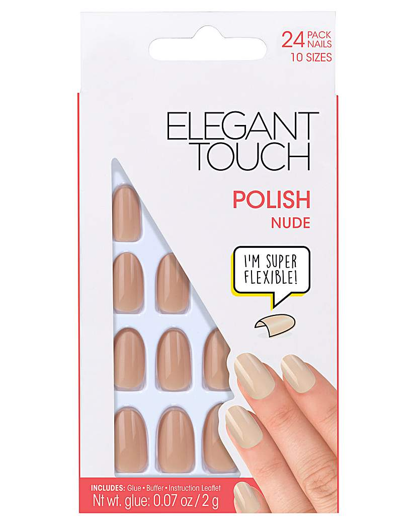 Image of Elegant Touch Polished Core Nail Nude