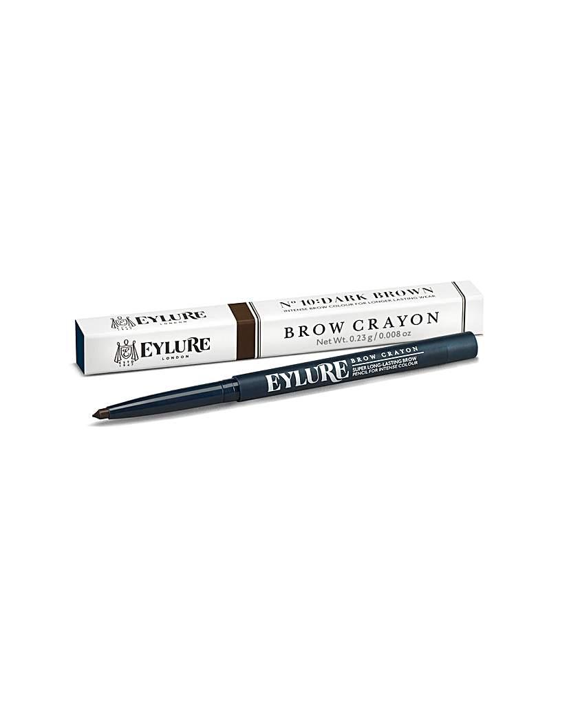 Image of Eylure Brow Crayon Dark Brown No. 10