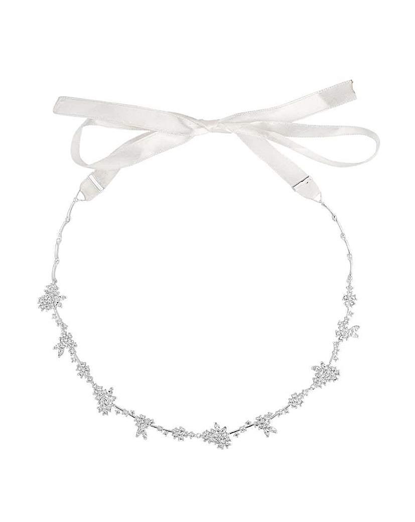 Image of Alan Hannah floral cluster hair ribbon