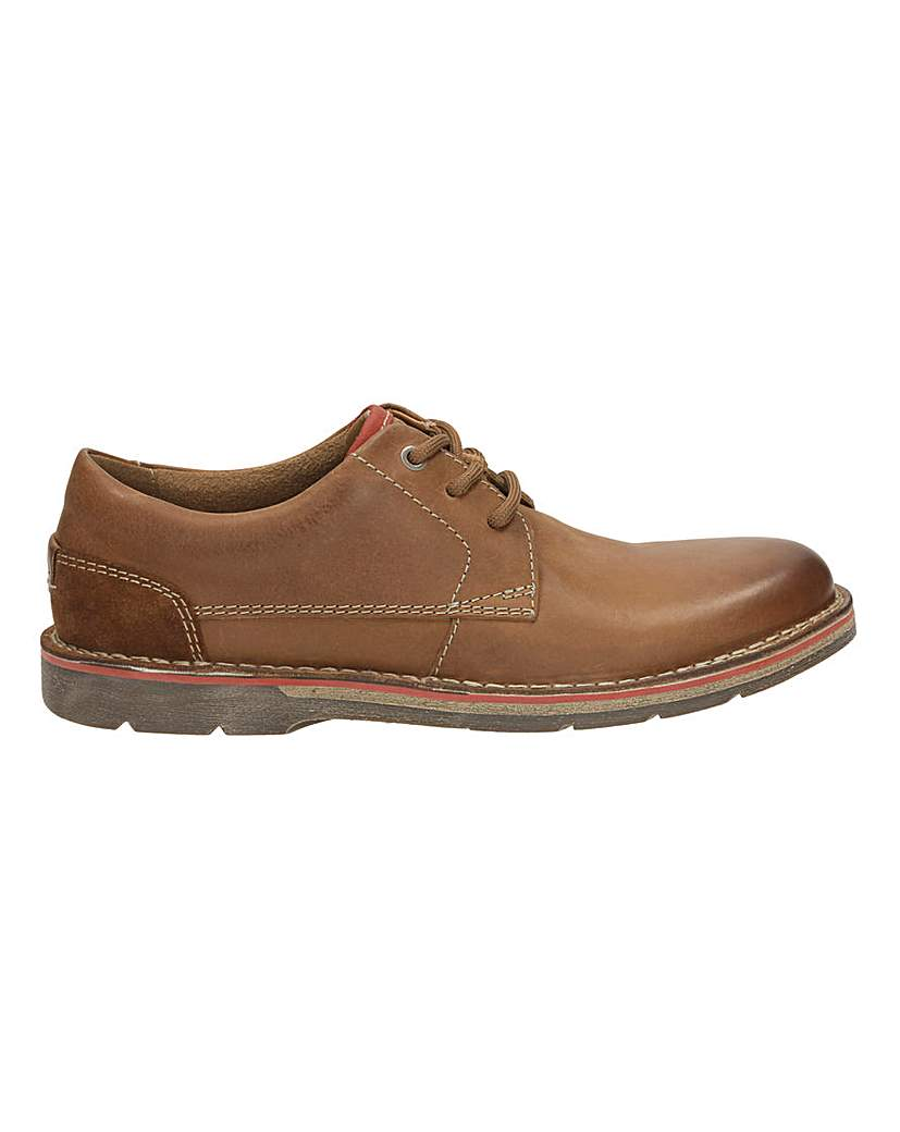 Clarks Edgewick Plain Lace Up G Fitting
