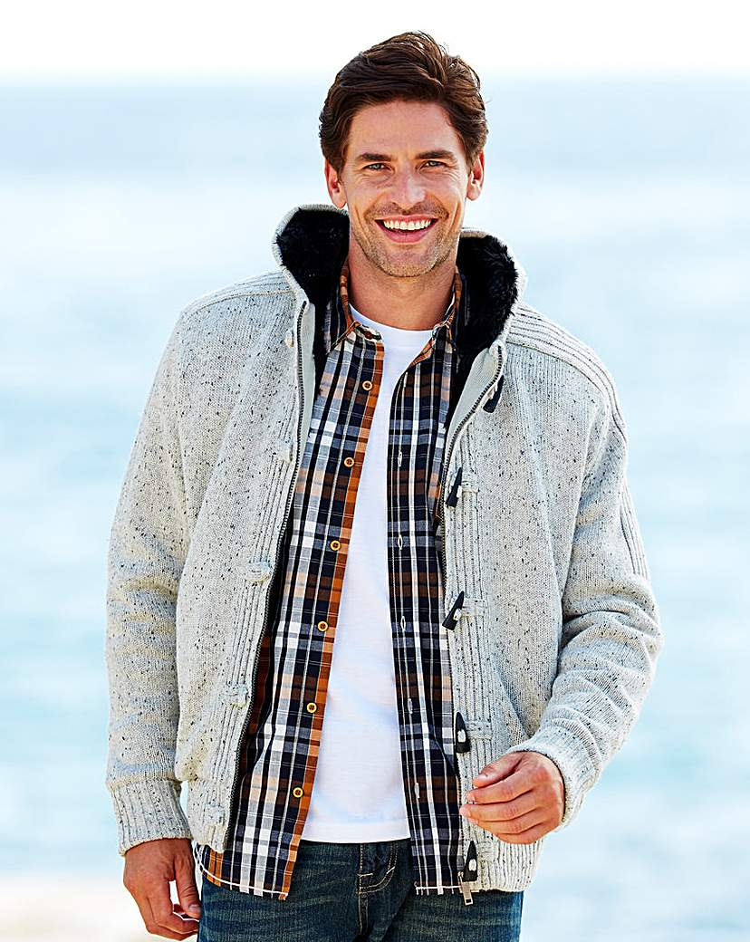 Southbay Lined Toggle Cardigan.