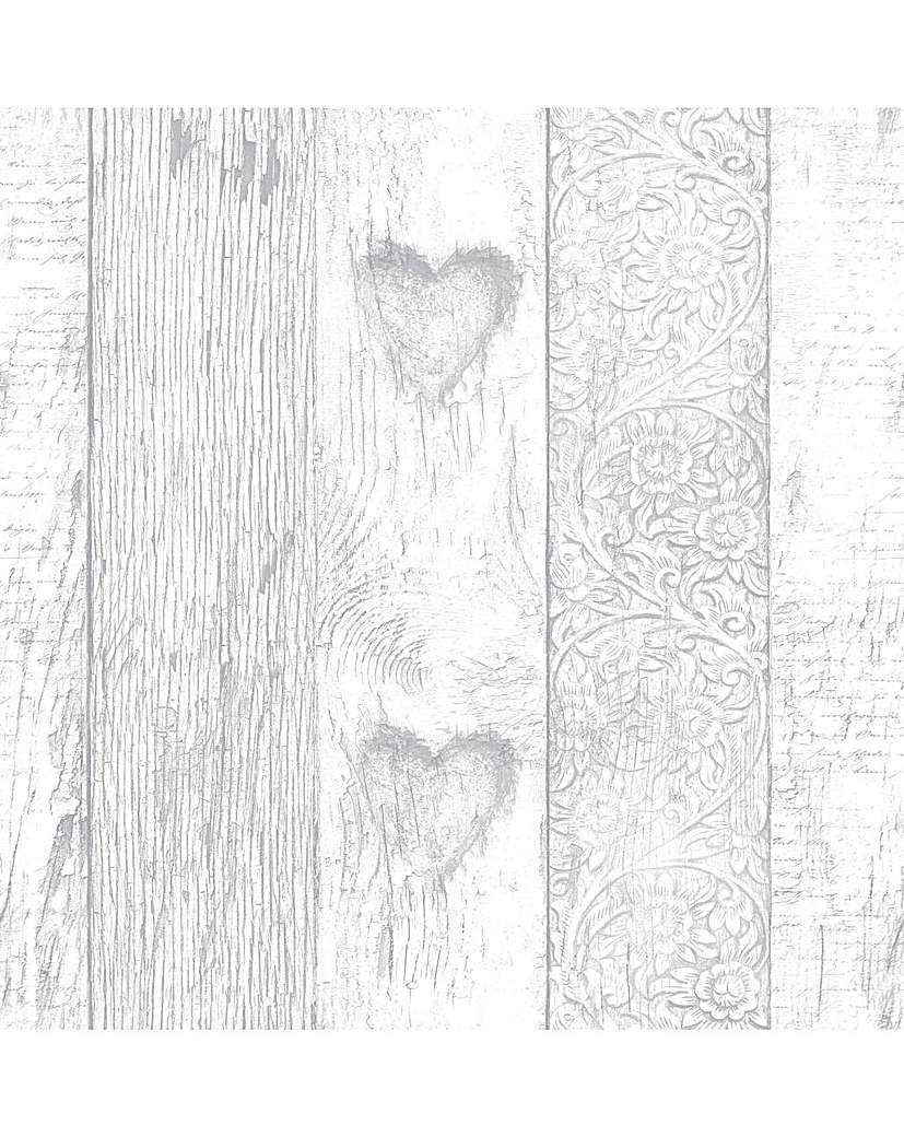 Fresco Plank Love Heart