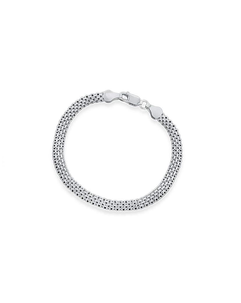 Image of Sterling Silver Four Strand Bracelet