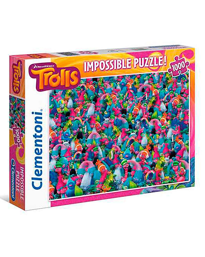 Image of 1000 PIECE TROLL IMPOSSIBLE PUZZLE