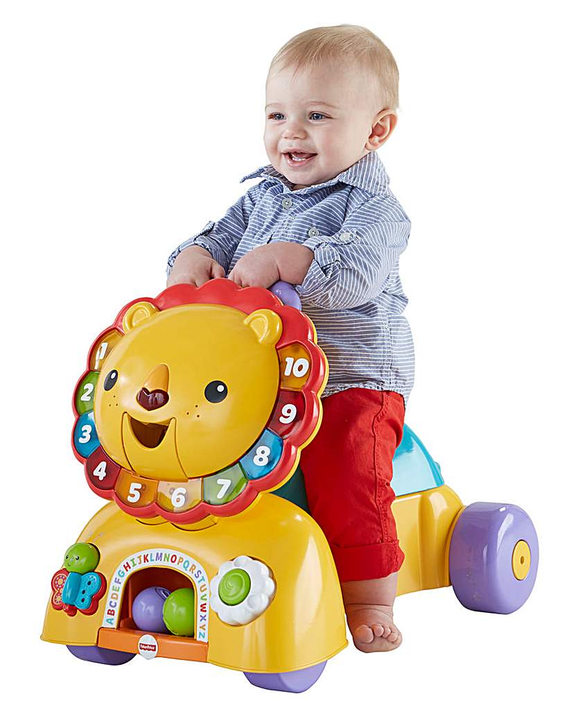 Image of Fisher-Price Sit Stride and Ride Lion
