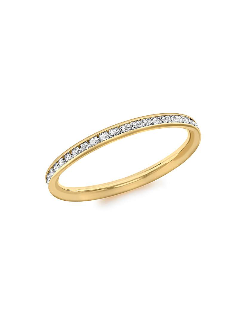 9CT Yellow Gold Band Ring