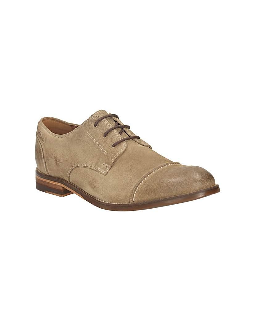 Clarks Exton Cap Shoes