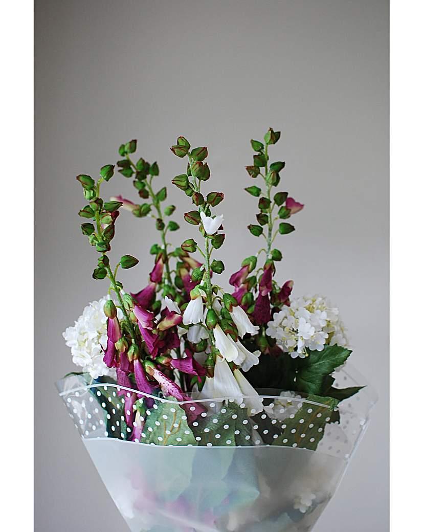 Artificial Stem Bouquet Hydrangea