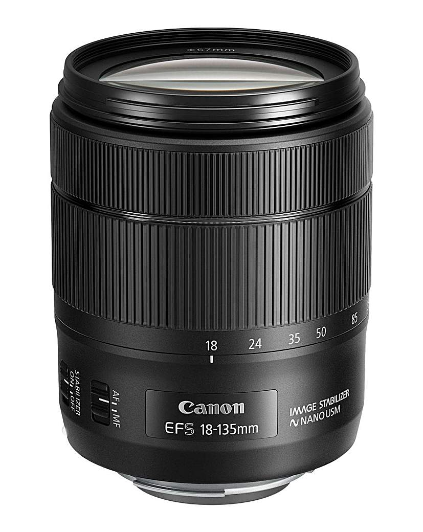 Canon EF-S 18-135mm f3.5-5.6 IS USM