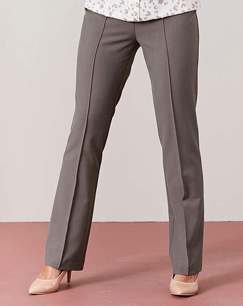 Image of Pull On Comfort Fit Trouser Length 25in