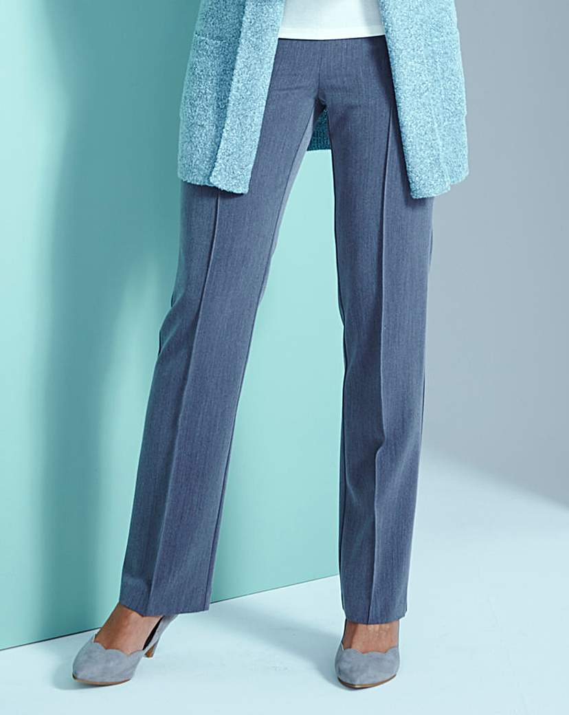 Pull-On Comfort-Fit Trousers Regular £20.00 AT vintagedancer.com
