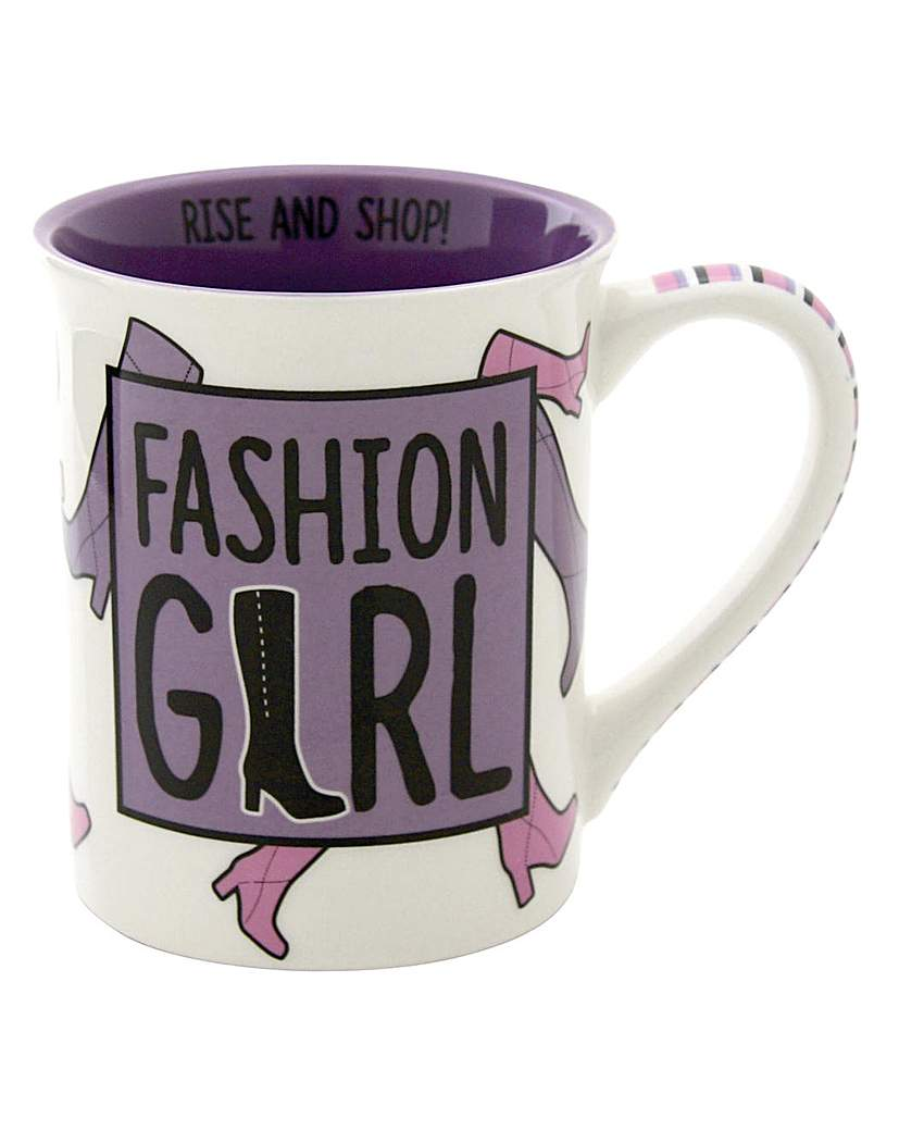 Image of Our Name is Mud Fashion Girl mug
