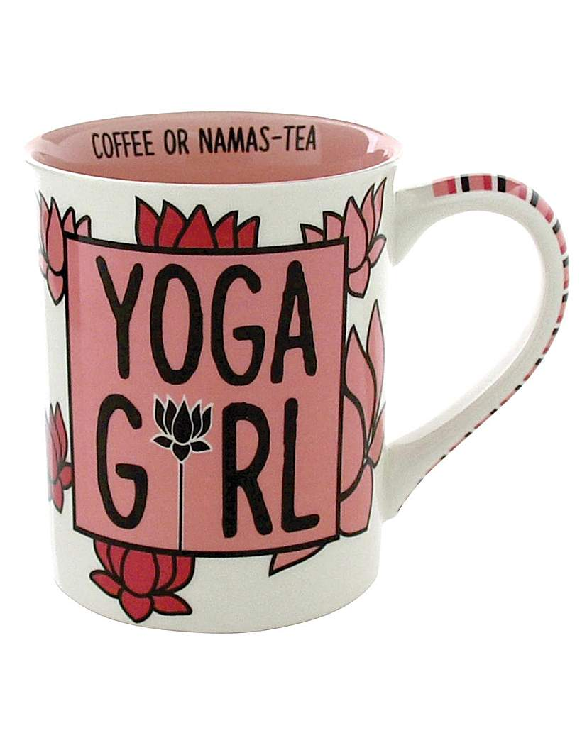 Image of Our Name is Mud Yoga Girl Mug