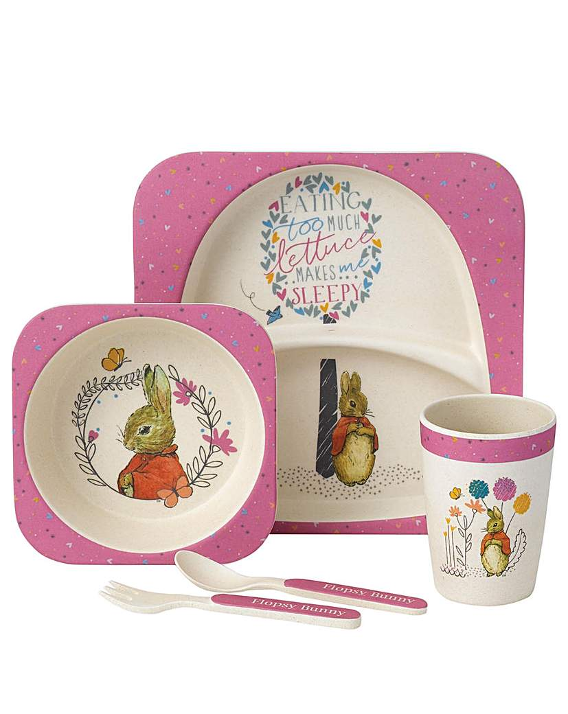 Image of Beatrix Potter Flopsy Bunny Dinner Set