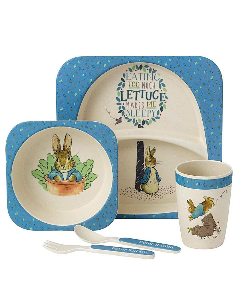 Image of Beatrix Potter Peter Rabbit Dinner Set