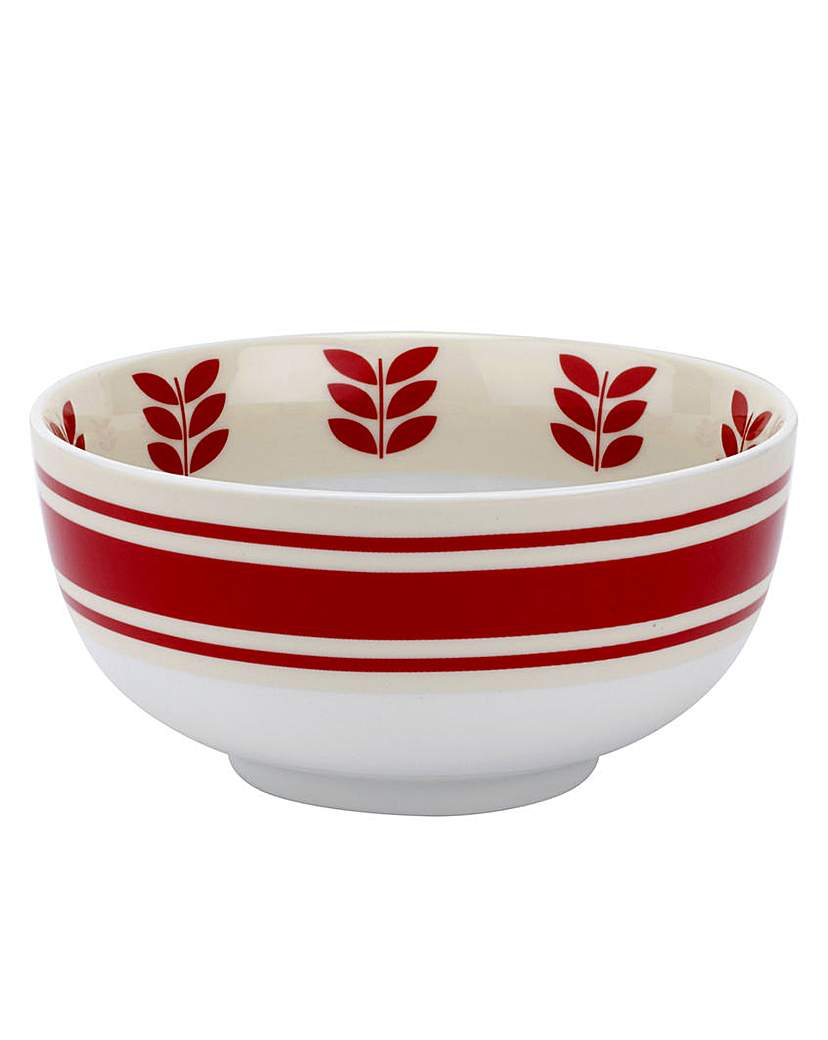 Image of Vintage Kellogg's Cereal Bowl x 4