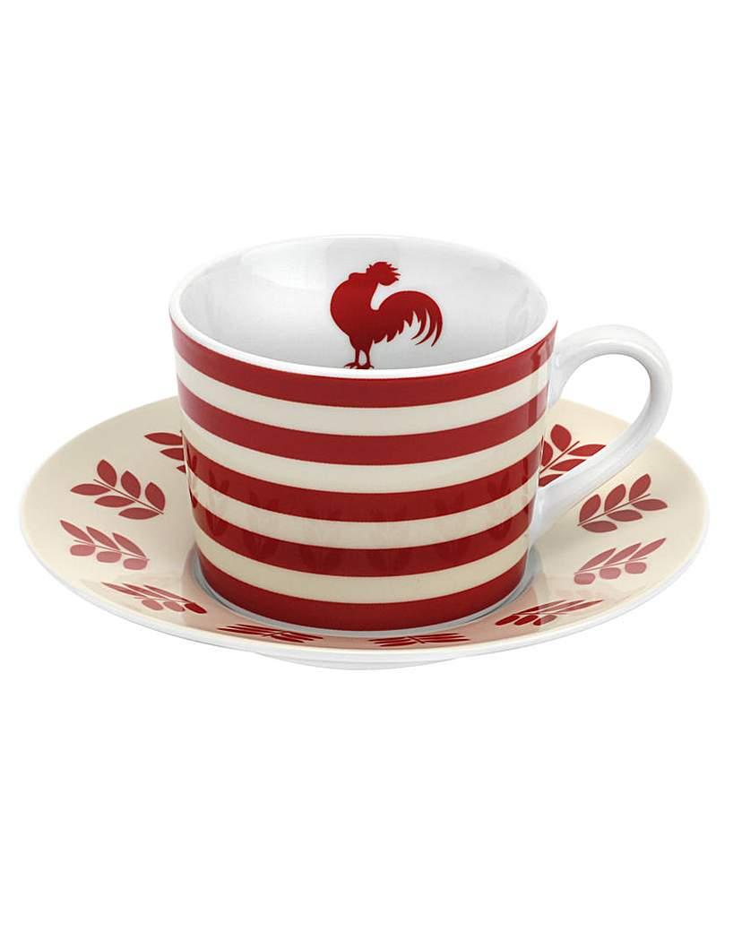 Vintage Kellogg's Teacup & Saucer