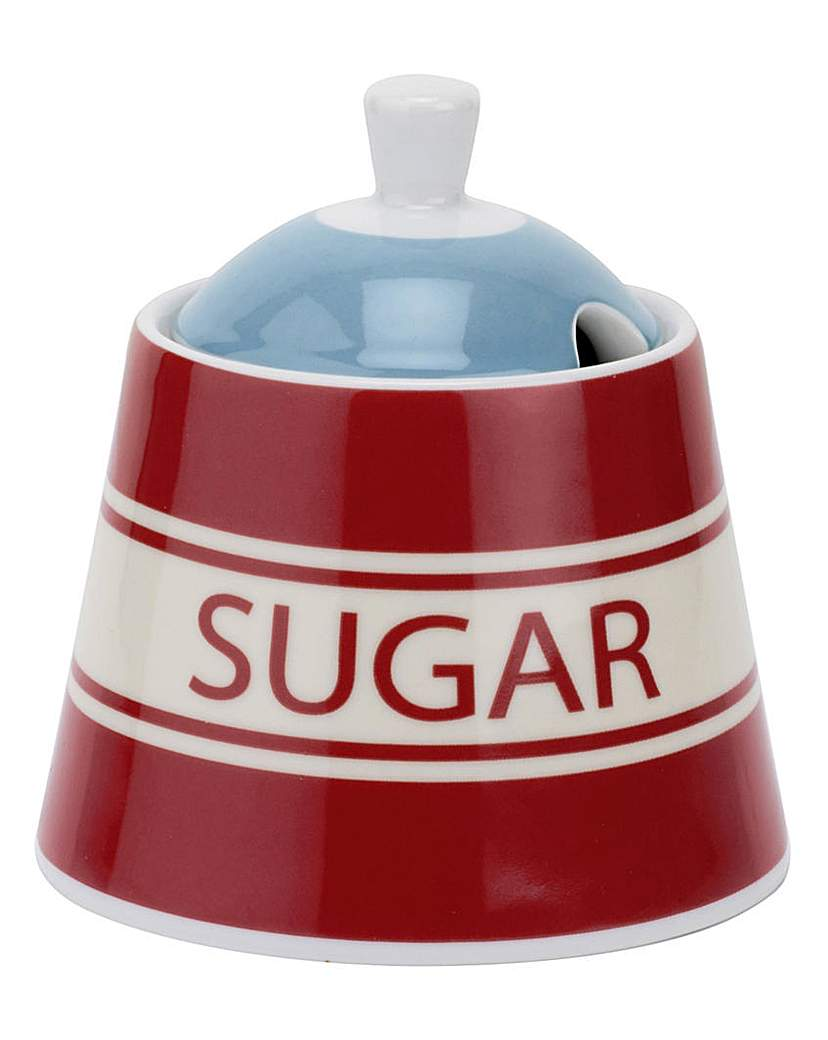 Image of Vintage Kellogg's Sugar Bowl