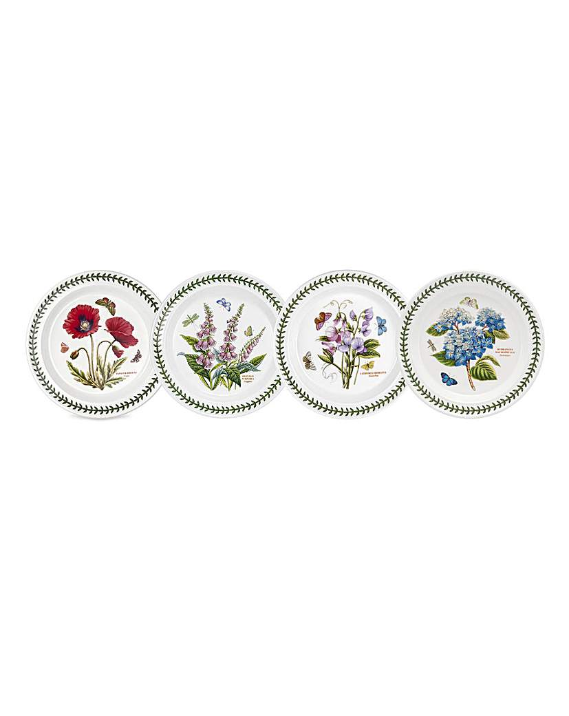 Portmeirion BG10 inch Plates Set Of 4