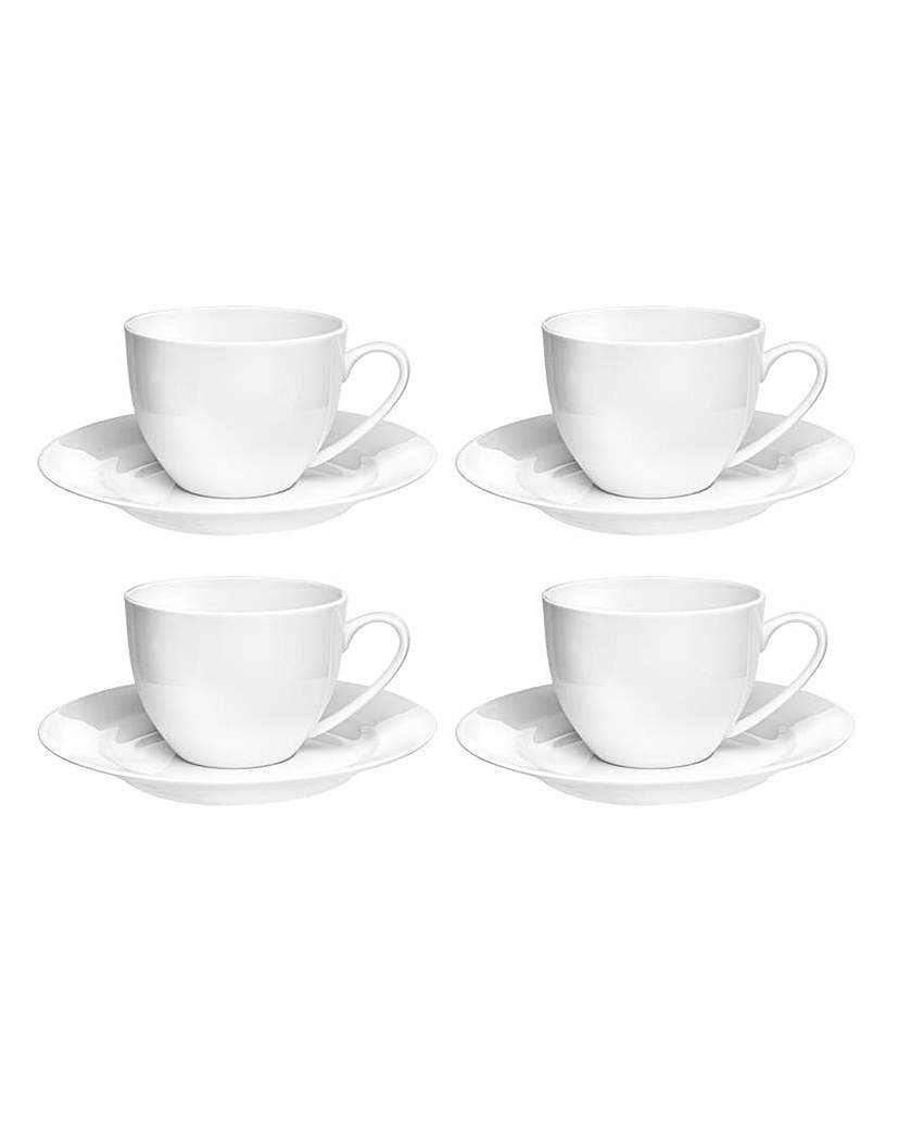 Image of Royal Worcester Cups & Saucers x 4