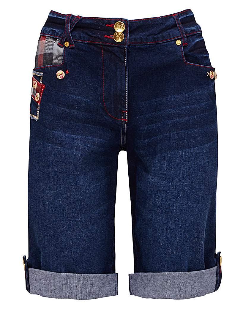 Joe Browns Tartan Detail Shorts