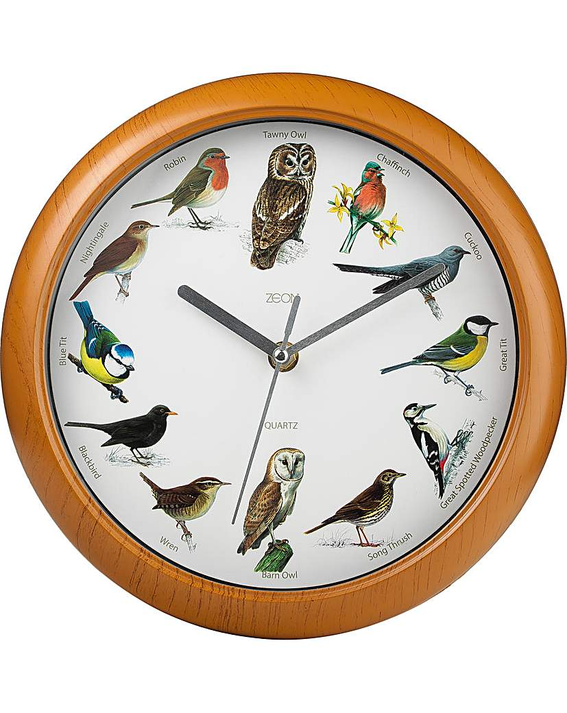Image of Bird Song Clock