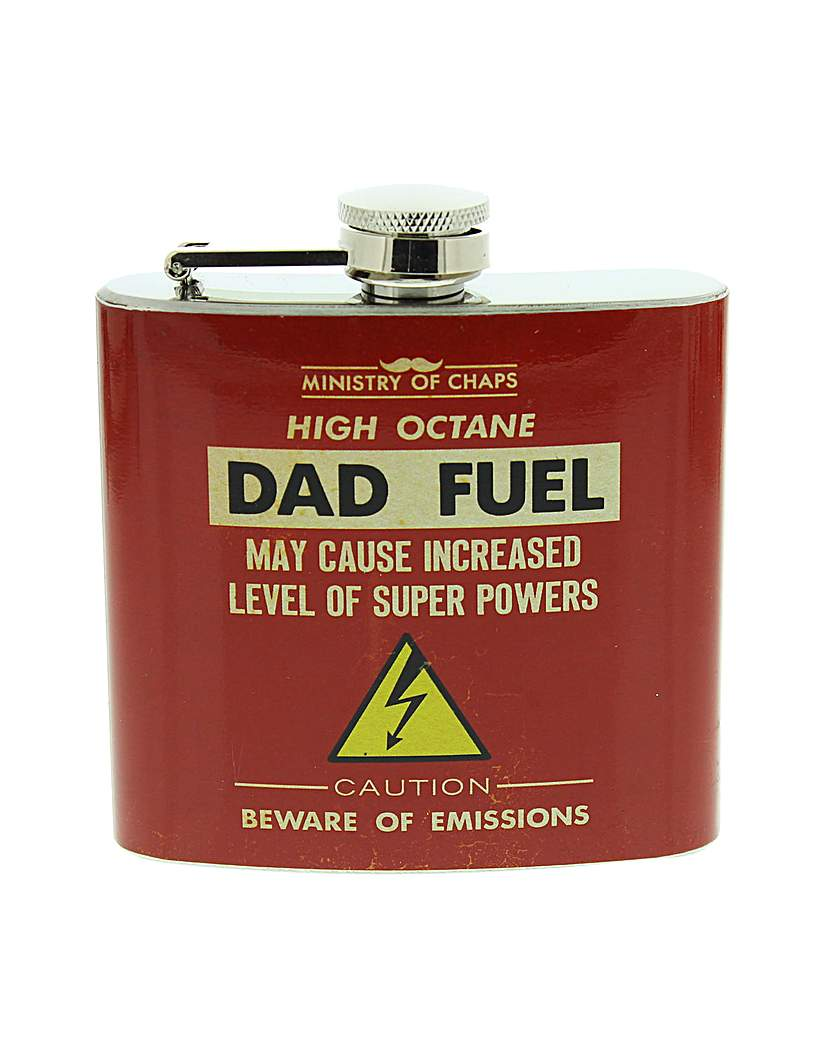 Ministry of Chaps Dad Fuel Hip Flask