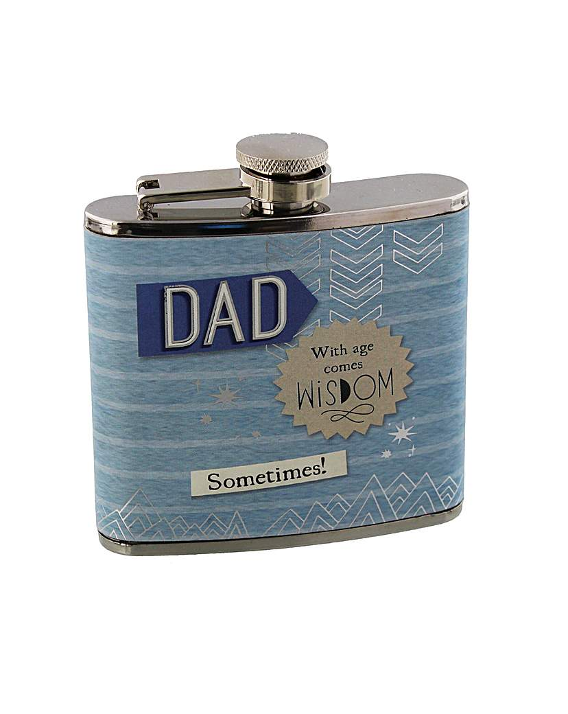 Boom Shaka Laka Dad Hip Flask