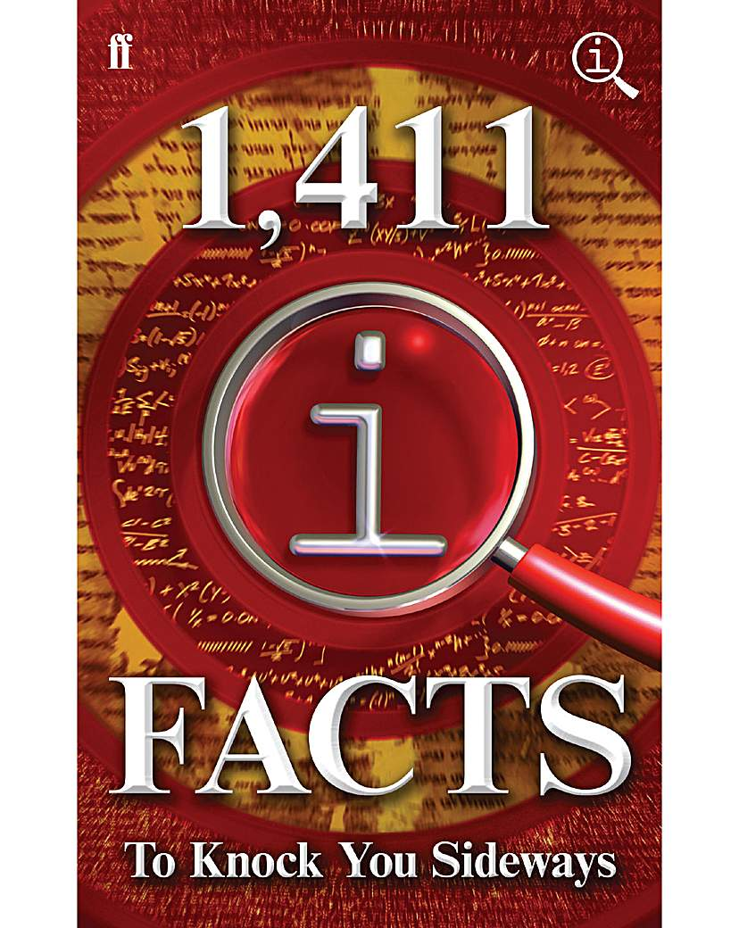 Image of 1411 QI FACTS TO KNOCK YOU SIDEWAYS